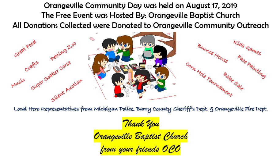 Orangeville Community Day